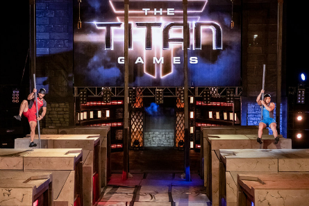 The Titan Games 2018, contestants Quinn Rivera, Thong La