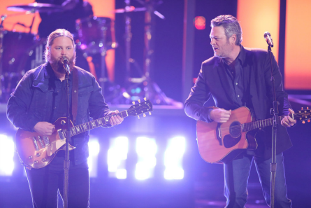 The Voice 15 finale, Blake Shelton, Chris Kroeze