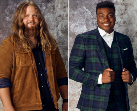 The Voice 15 live shows week 4 Results Top 8, Chris Kroeze, Kirk Jay