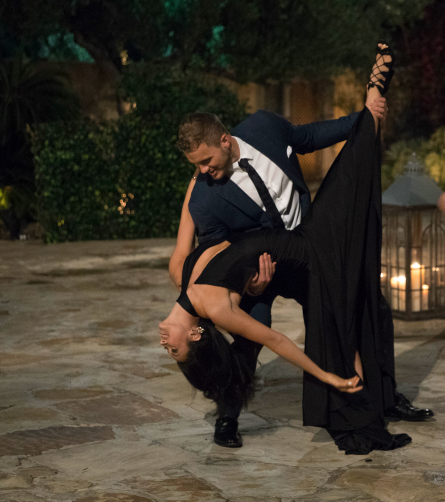 The Bachelor 2019, Colton and Sydney dancing