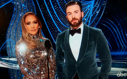 Oscars 2019, Jennifer Lopez, Chris Evans