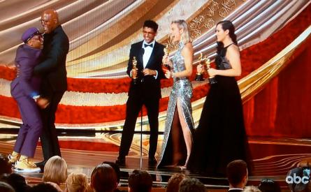 Oscars 2019, Spike Lee,Samuel L. Jackson, Brie Larson
