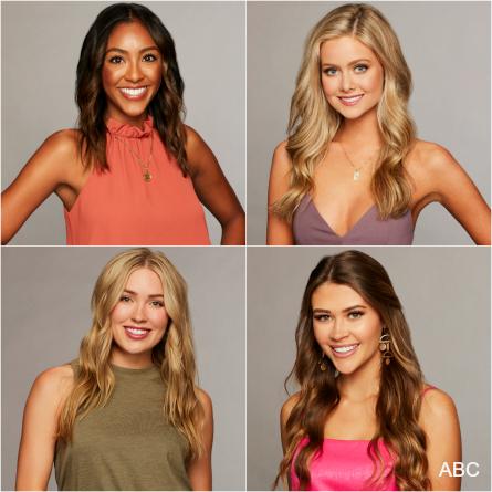 The Bachelor 2019 week 7, hometown dates, Tayshia, Hannah G., Cassie, Caelynn