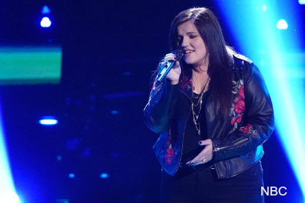 The Voice 16 blind auditions week 1, Savannah Brister
