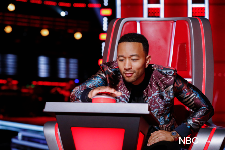 The Voice 16 Blind Auditins week 1, John Legend