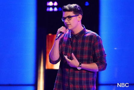 Voice 16 blind auditions week 4, Andrew Jannakos