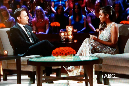 The Bachelor 23 finale Monday, Chris Harrison, Tayshia