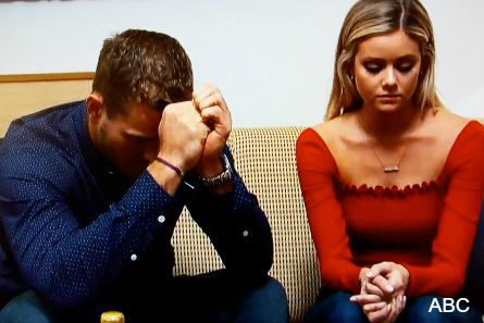 The Bachelor 23 finale Monday, Colton, Hannah G.