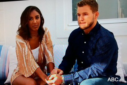 The Bachelor 23 finale Monday, Tayshia, Colton
