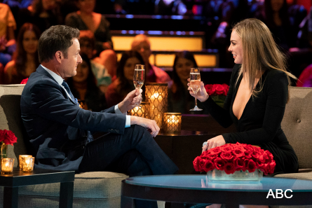 Bachelor 23 Women Tell All, Chris Harrison, Hannah B.